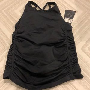 Nux Charcoal Gray Workout Tank Top